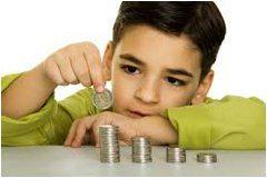 ako naučiť deti šetriť peniaze