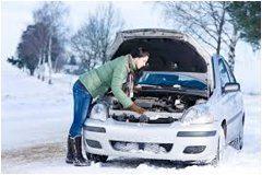 ako pripraviť auto na zimu