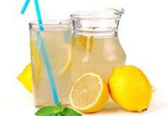 ako si vyrobiť domácu limonádu