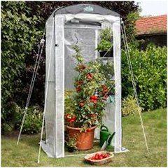 miniatúrny skleník na ochranu rastlín pred mrazom