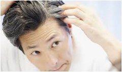 prvé šedivé vlasy