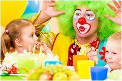 usporiadanie detskej párty