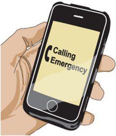 volanie záchranky