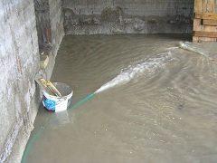 izolácia pivnice proti zemnej vode