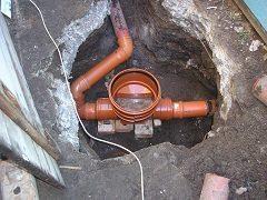 naplánovať kanalizáciu pri dome