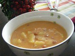 recept na fazuľovú polievku