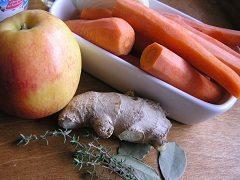 uvarenie mrkvovej polievky