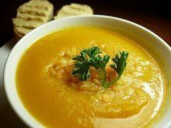 varenie šošovicovej polievky