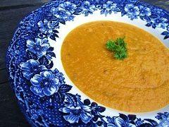 sladké polievky s mrkvou