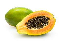 exotické ovocie ako je papaya
