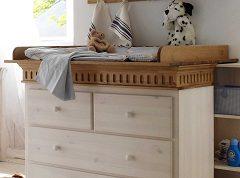 drevený prebaľovací pult