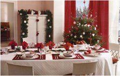 ako na vianočné stolovanie