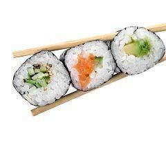 ako si spraviť sushi s nakladanou reďkovkou
