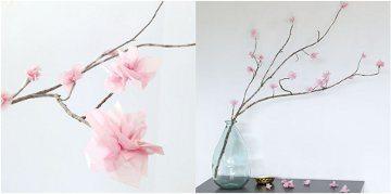 ako si vyrobiť kvet z papiera