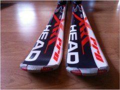lacné použité zjazdové lyže