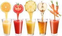 šťavy a ako správne piť cez deň