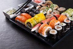 recept na sushi s nakladanou reďkovkou