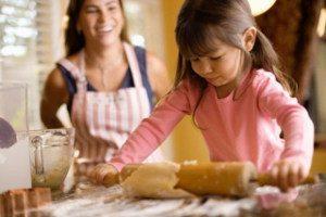 pečenie s dieťaťom