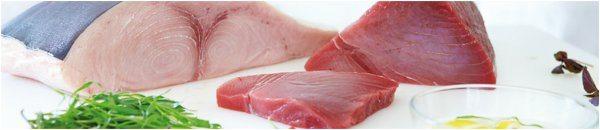 čerstvé rybie mäso