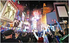 Silvester a Nový rok v New Yorku