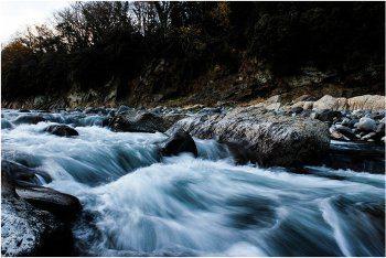 ako fotiť vodopád a tečúcu vodu