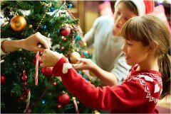 ako krásne ozdobiť vianočný stromček