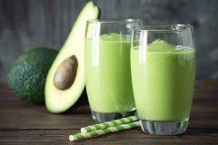 ako urobiť avokádové smoothie