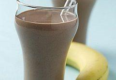 ako urobiť výborné čkoloádovo banánové smoothie