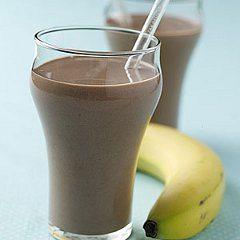 ako urobiť výborné čokoládovo banánové smoothie