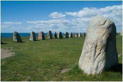 kamenné pobrežie a severské krajiny
