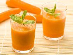 návod na mrkvové smoothie