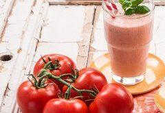 návod na smoothie z paradajok