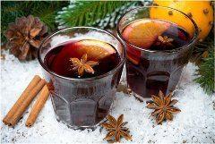 pomarančový vianočný punč
