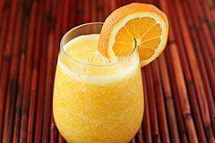 výborné pomarančové smoothie