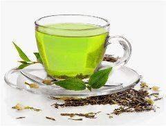 zelený čaj na popáleniny od slnka