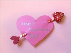 ako vyrobiť pekné valentínske srdce a prianie