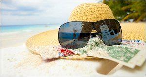 ako schovať peniaze na pláži