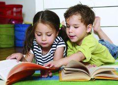 deti aby čítali knihy