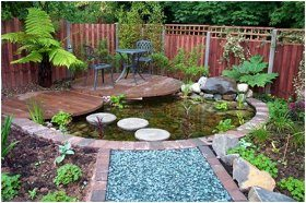 dokonalé rastliny pre záhradné jazierko