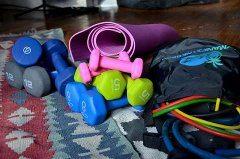 domáci kútik na cvičenie