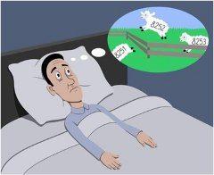 počítanie ovečiek pred zaspávaním