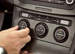 používať klimatizáciu v aute