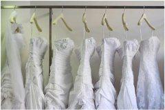 rôzne svadobné šaty