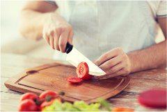 správne krájanie s kuchynským nožom
