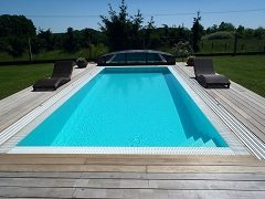 uviesť bazén do prevádzky zahŕňa aj pH