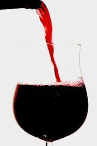 pohár dobrého vína