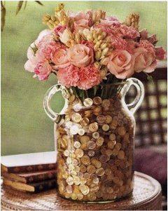 dokonale usušené rastliny a kvety vo váze