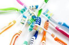 čistenie zubov - kefky