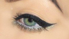 ako namaľovať očné linky