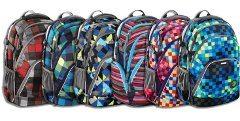 rôzne druhy školských ruksakov